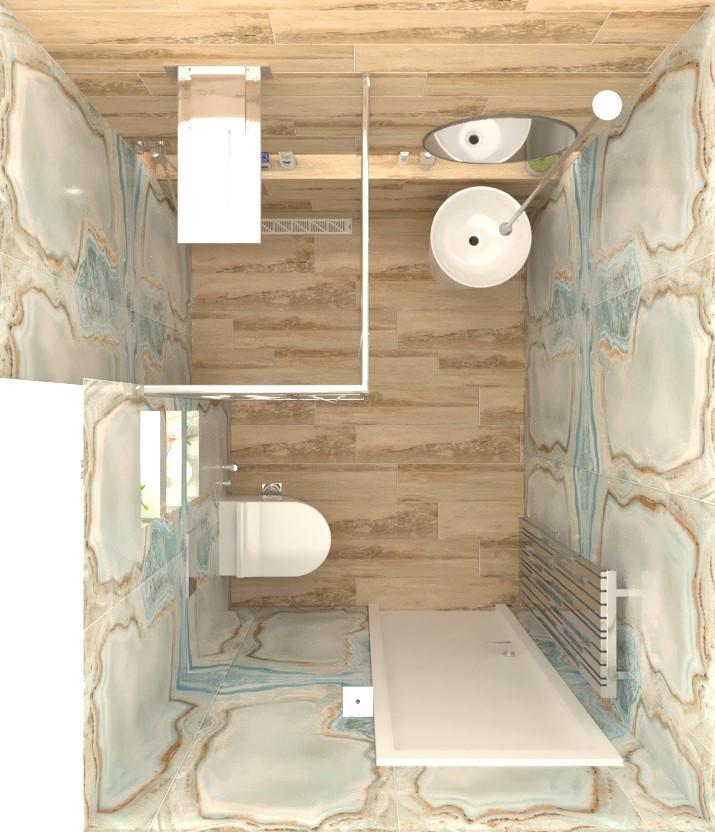 interioren-dizajn-za-bania–darveni-kamenni-plochki-razpredelenie-na-malka-bania-3